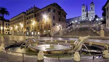 Площадь Испании Рим